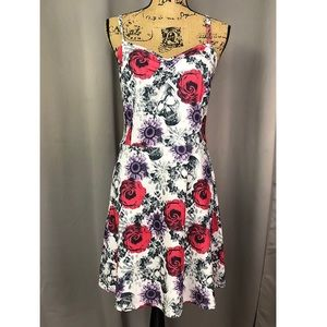 Teenage Runway Skull and Roses Dress